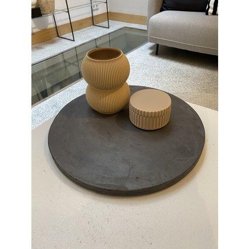 Design Van Rein Betonnen plateau - Rond - L