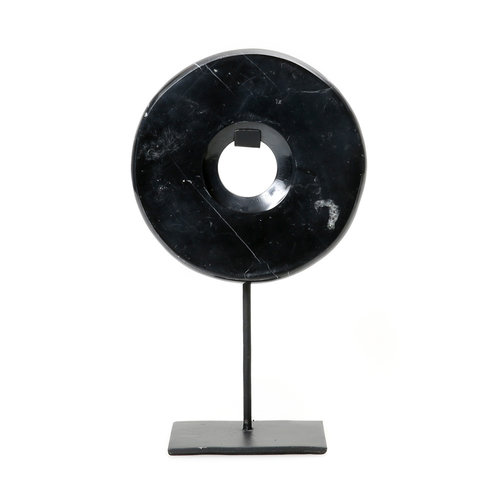 BB The Marble Disc on Stand - Black - M