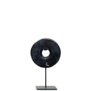 BB The Marble Disc on Stand - Black - S