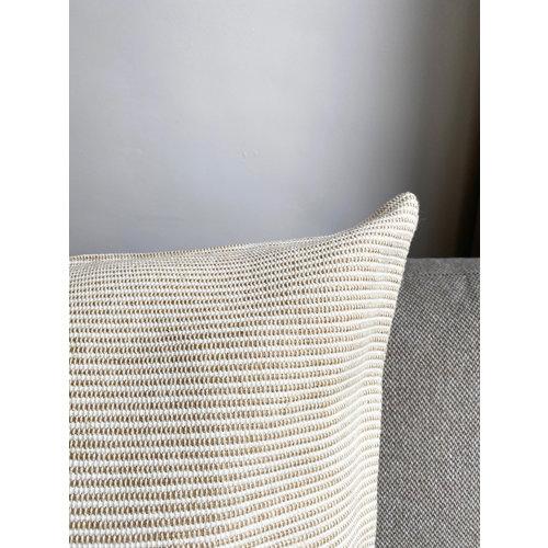 meubols Sierkussen Sand mini stripe