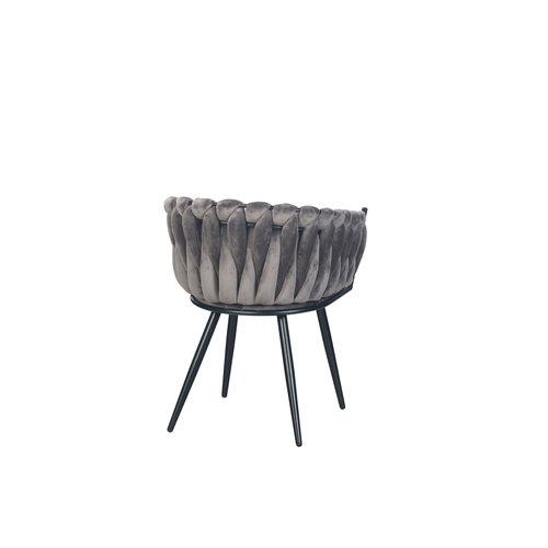 meubols Wave stoel - Grey (set van 2)
