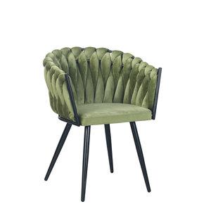 meubols Wave stoel - Green (set van 2)