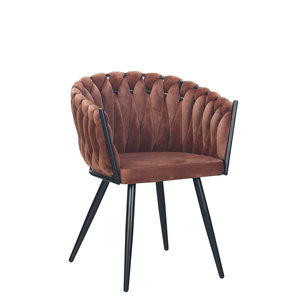 meubols Wave stoel - copper (set van 2)