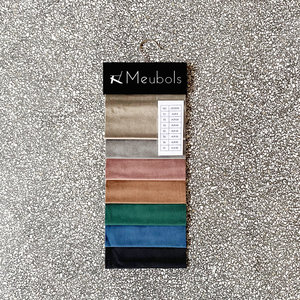 meubols Stofstalen Velvet collectie