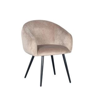 PTP Bubble Chair - Velvet stof - Sand
