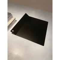 Tray modern - metaal - zwart