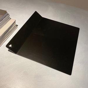 Design Van Rein Tray modern - metaal - zwart