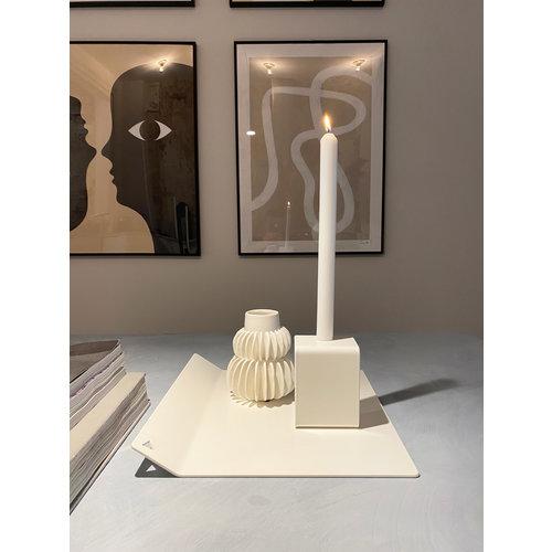 Design Van Rein Tray modern metaal wit