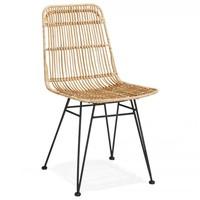 Rotan stoel - Flora - Naturel