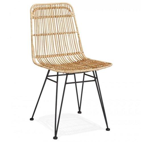 KD Rotan stoel - Flora - Naturel