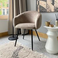 Bubble Chair - Velvet stof - Sand
