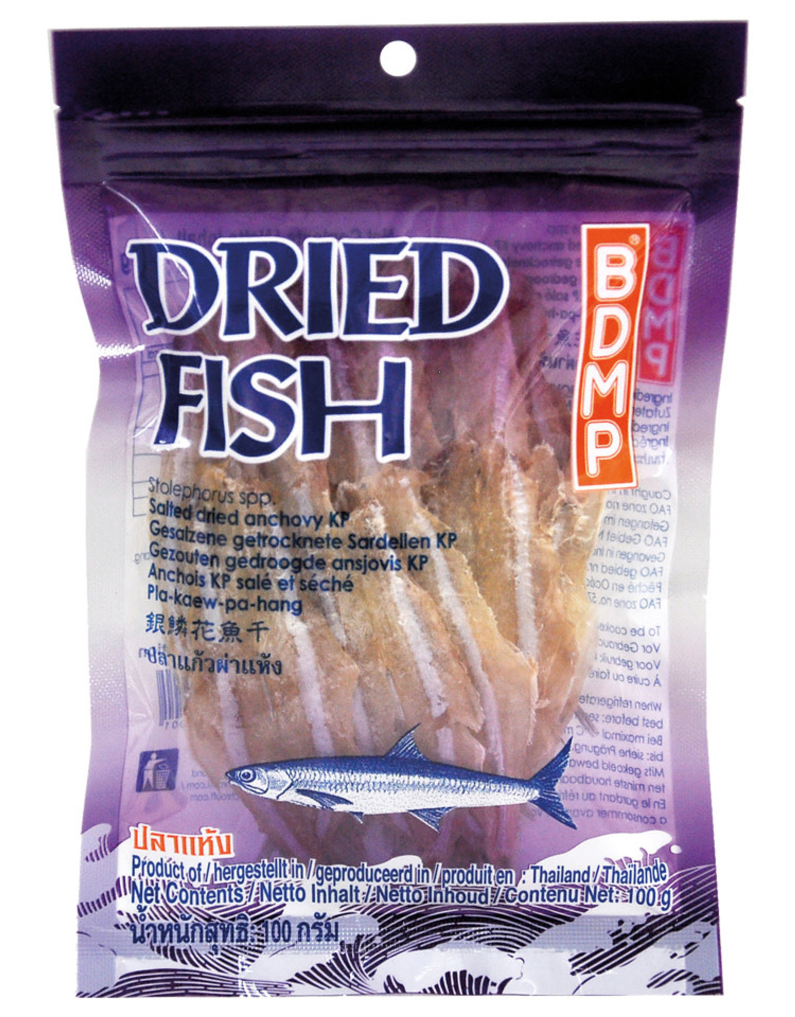 Fish Anchovy Bdmp 100G (Paarse)