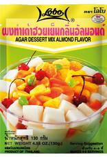Dessert Mix Almond Agar Lobo 130G