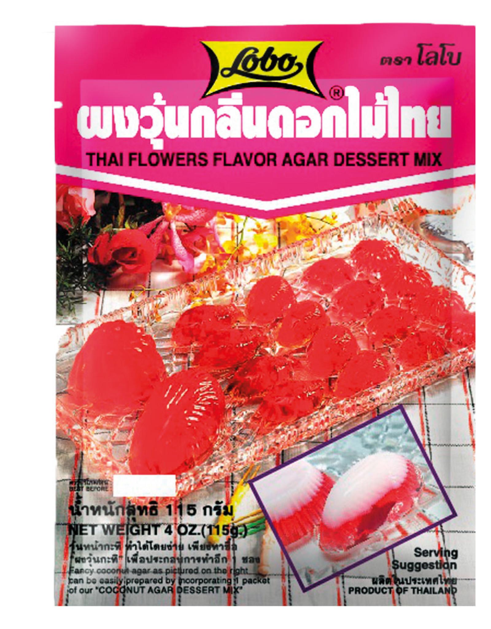 Dessert Mix Flower Agar Lobo 115G