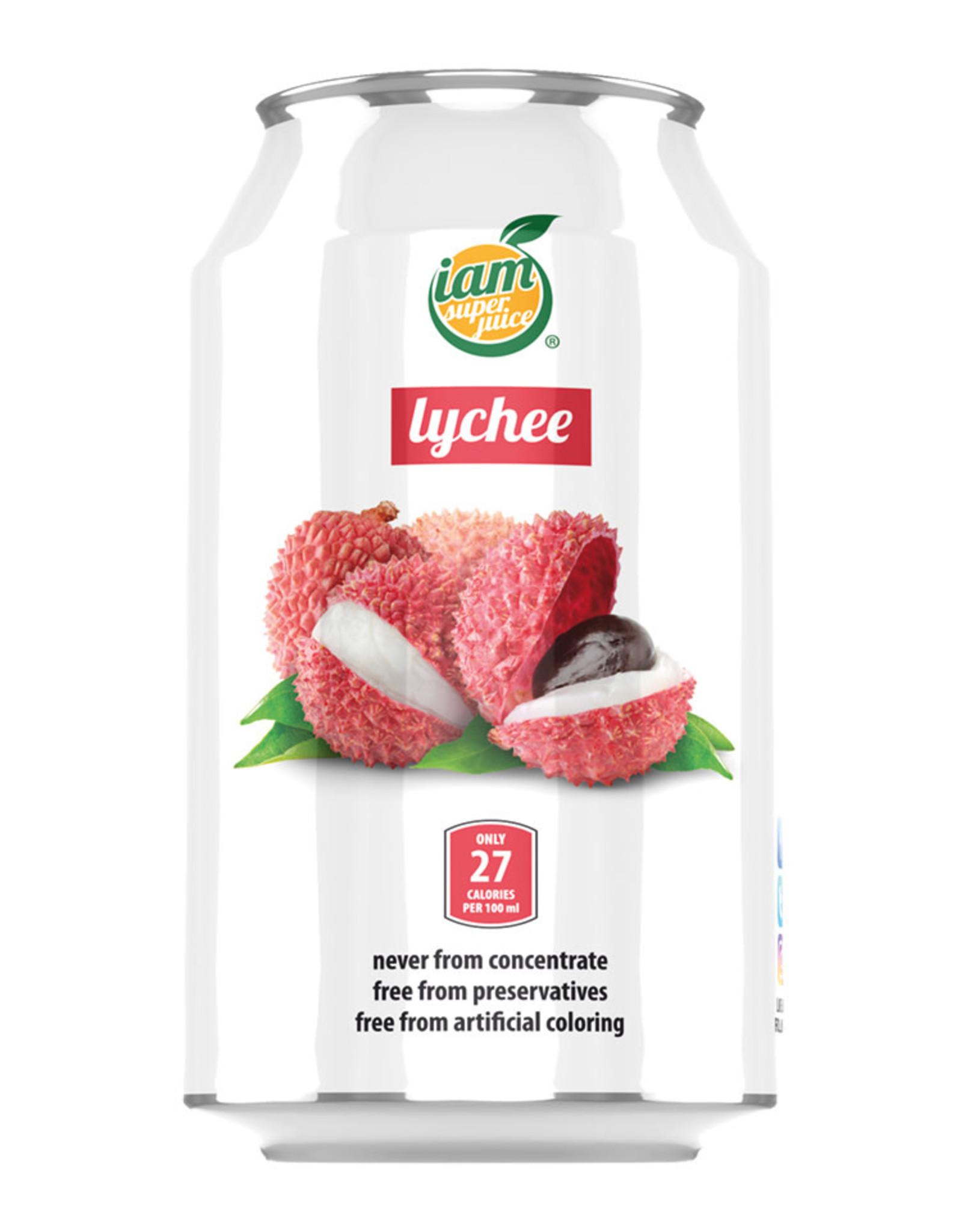 Drinks Lychee Iam Sjuice 330Ml