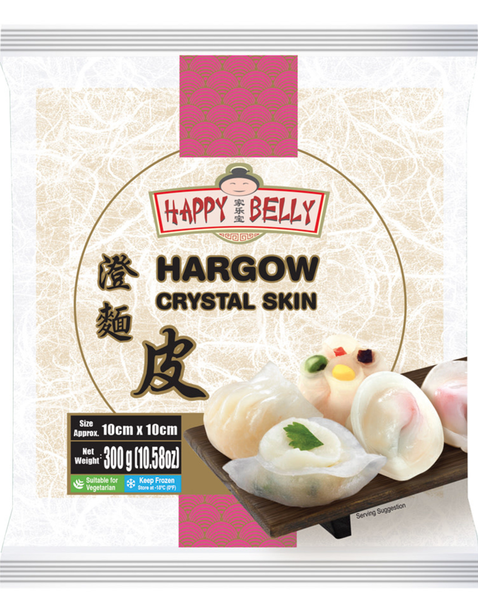 Hargow Crystal Skin Happy Belly 300G