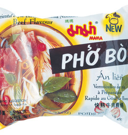 Inst Rice Noodle Beef Mama 55G