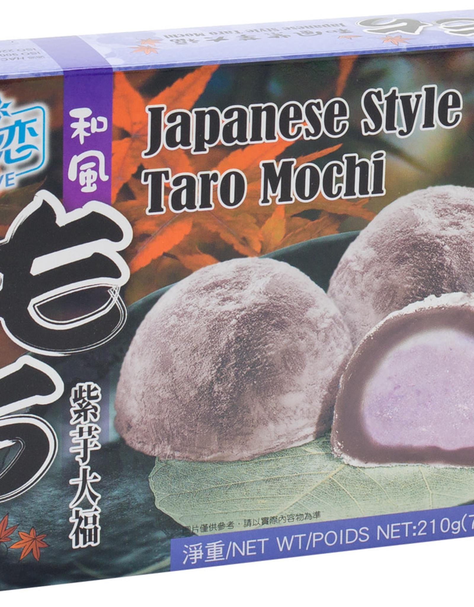Mochi Jap Rice Cake Taro Y&L 210G