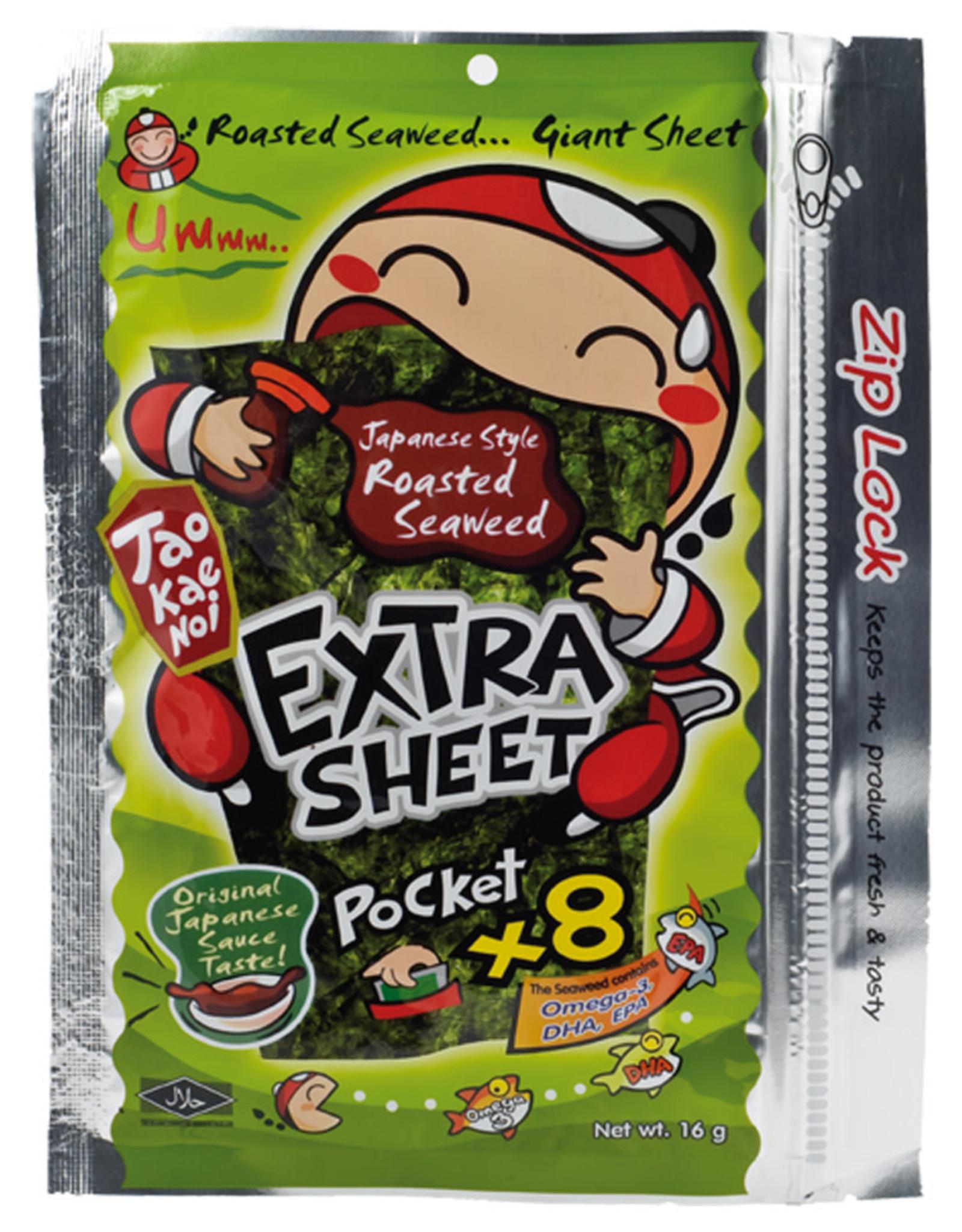 Seaweedsnacks With Japanese Sauce Tkn 12.8G