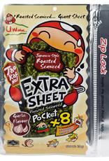 Seaweed Snack Garlic Xtra Sh.Tkn 18G