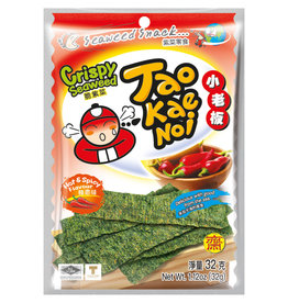 Seaweed Snack Spicy Taokaenoi 32G
