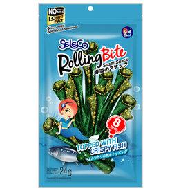 Chips Rong Biển Cuộn Vị Cá Seleco 24G