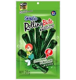 Snack Seaweed Roast. Orig. Seleco (Rolling Bite) 28G