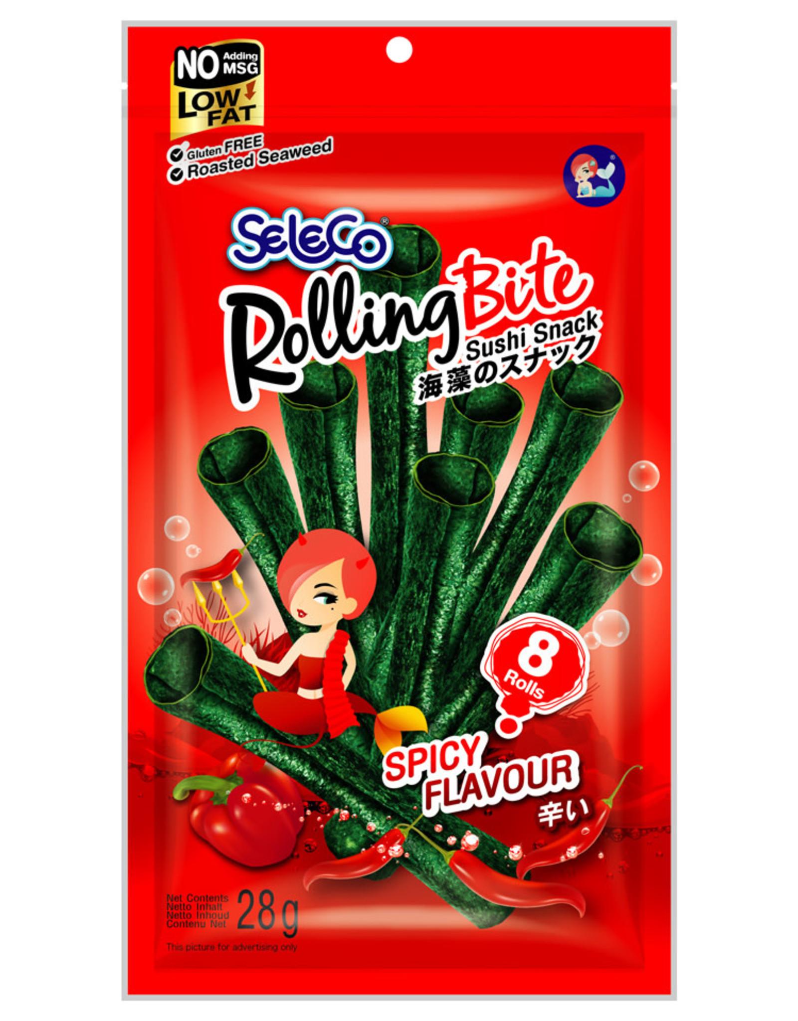 Snack Seaweed Roast. Spicy Seleco 28G