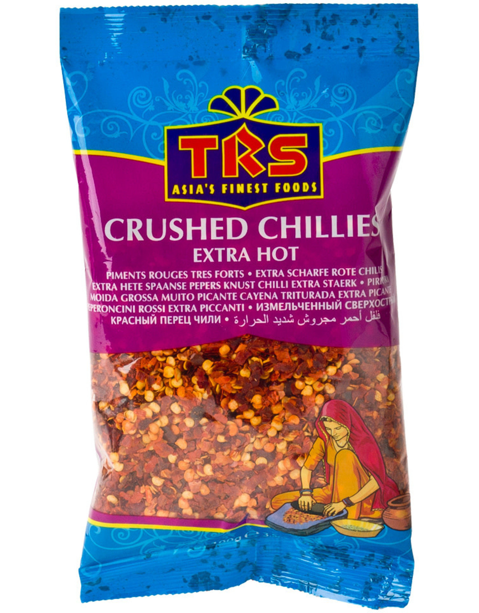 Spices Crushed Chilli Trs 100G