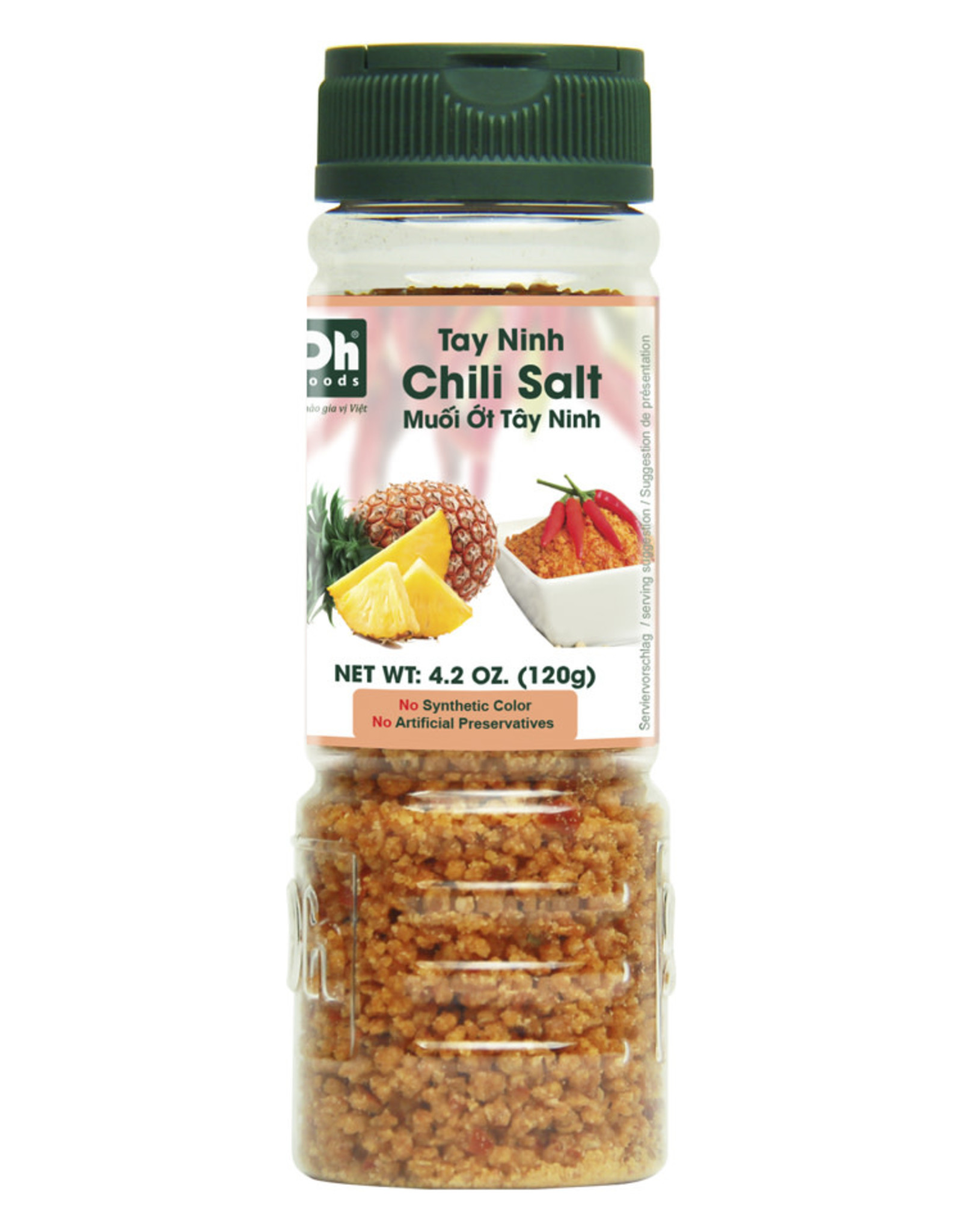 Kruidenmix Zout-Chili Voor Mango Dhf 120G