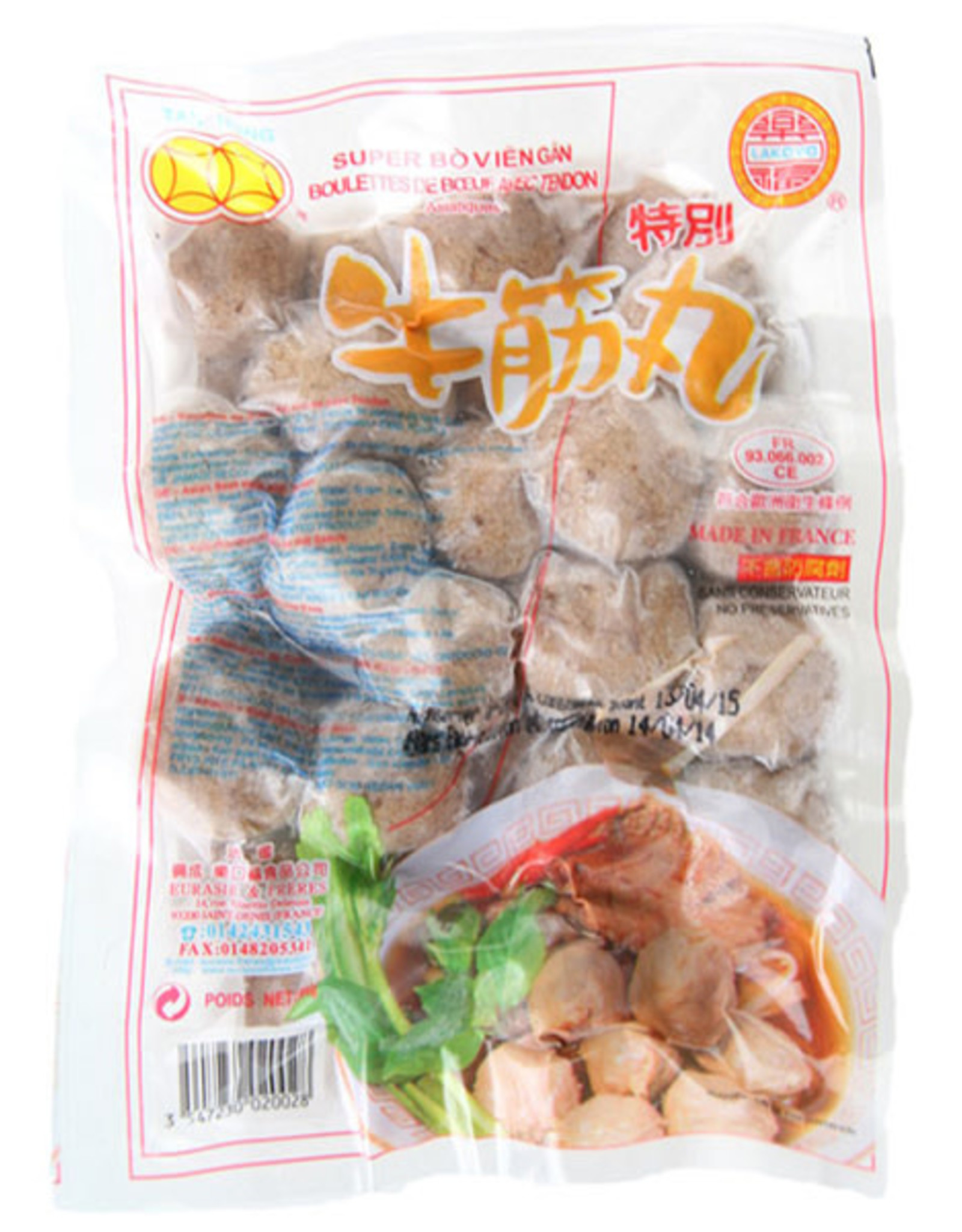 Beef Balls With Nerves Tan Hung 500Gr