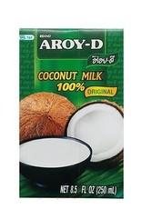 Coconut Milk (Uht) 17,5% Fat  250 Ml.  Aroy-D