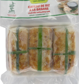 Grilled Banana Rice Cake 450Gr. Bamboo Tree