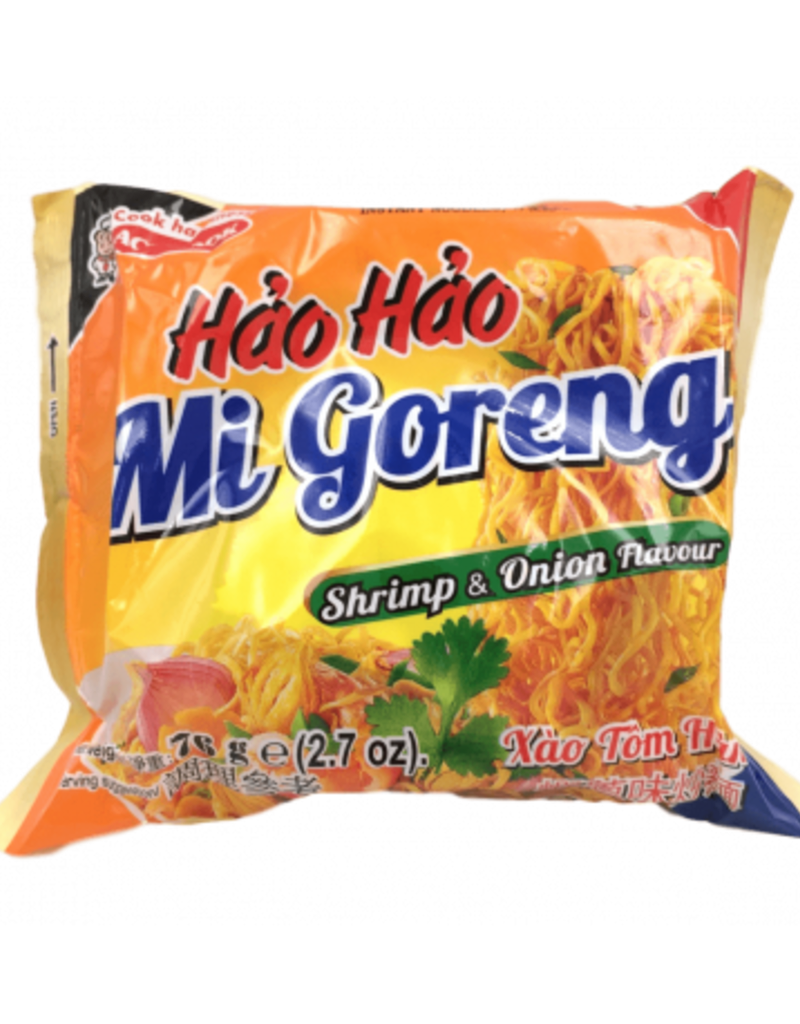 Hh Inst. Noodle Shrimp&Onion 76 Gr. Acecook