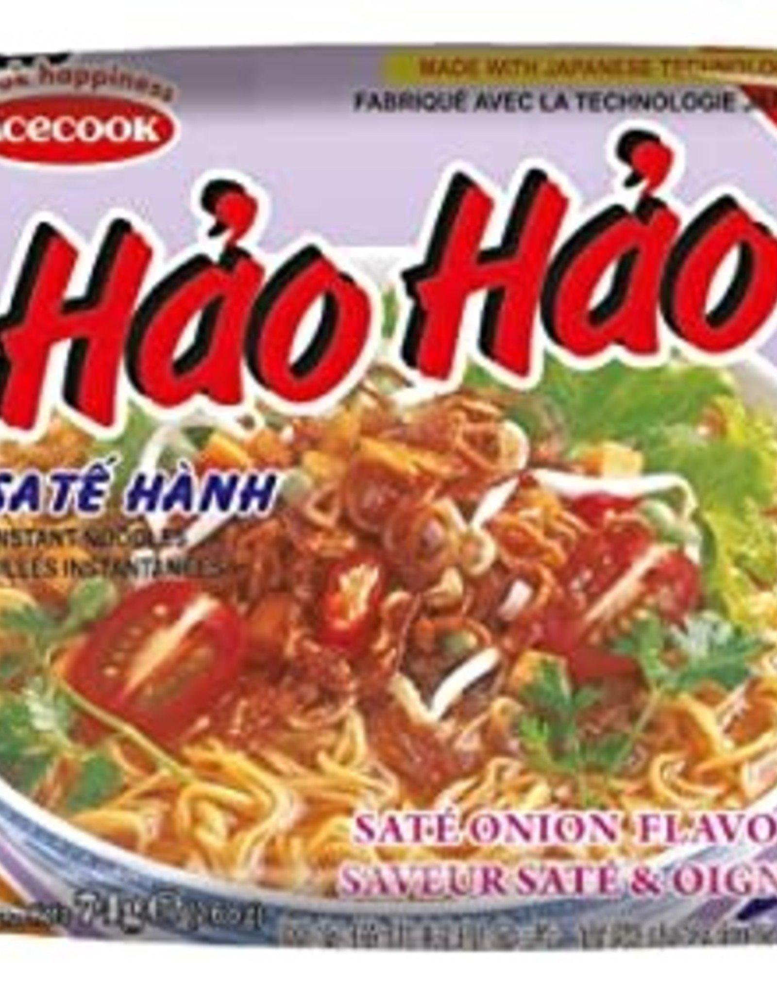 Hh Instant Noodle Sate Onion 74 Gr. Acecook