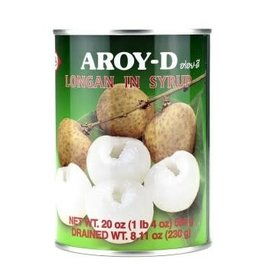 Longans In Syrup 565 Gr. Aroy-D