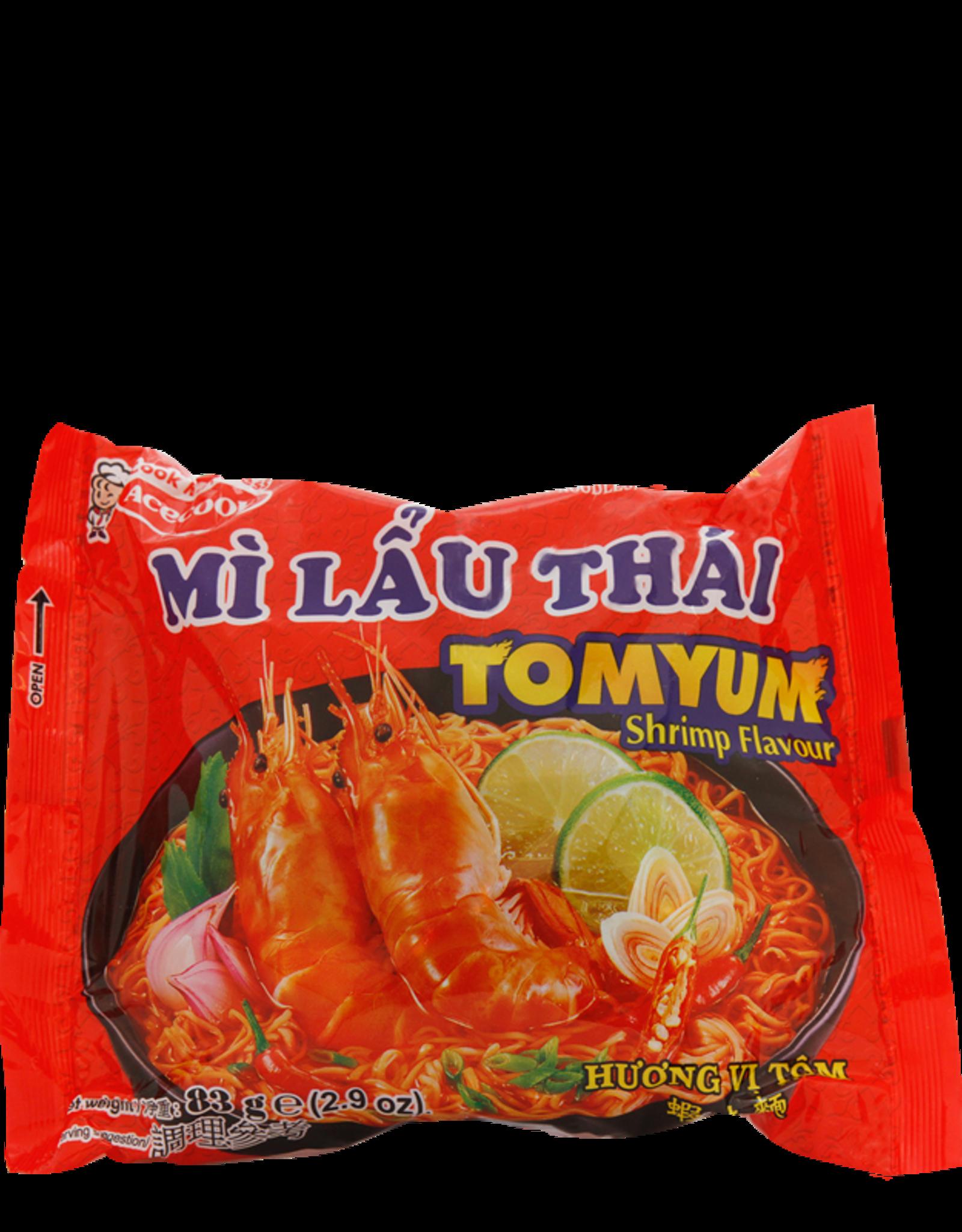 Mlt Instant Noodle Shrimp 83 Gr.  Acecook