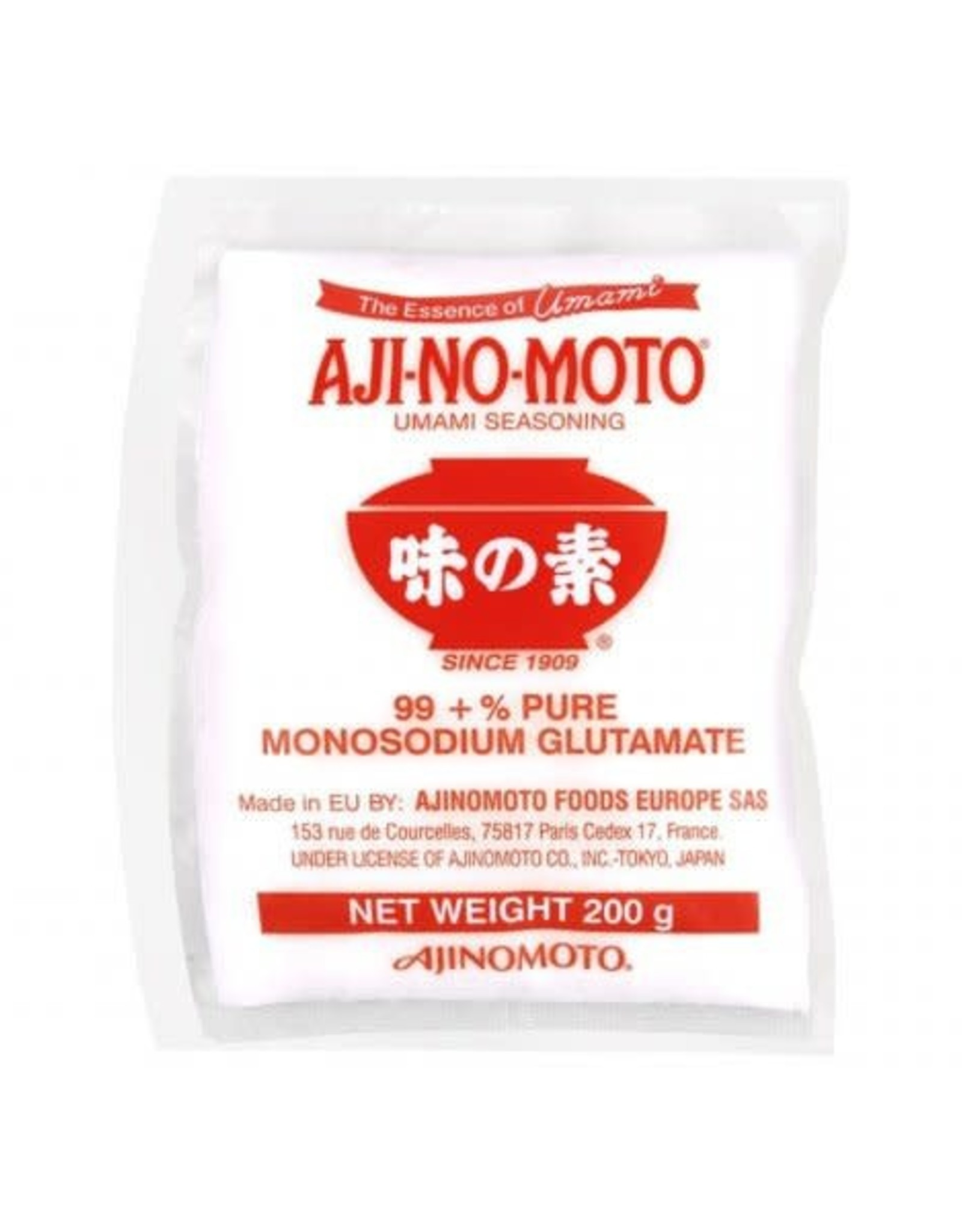 Monosodium Glutamate 200 Gr.  Ajinomoto