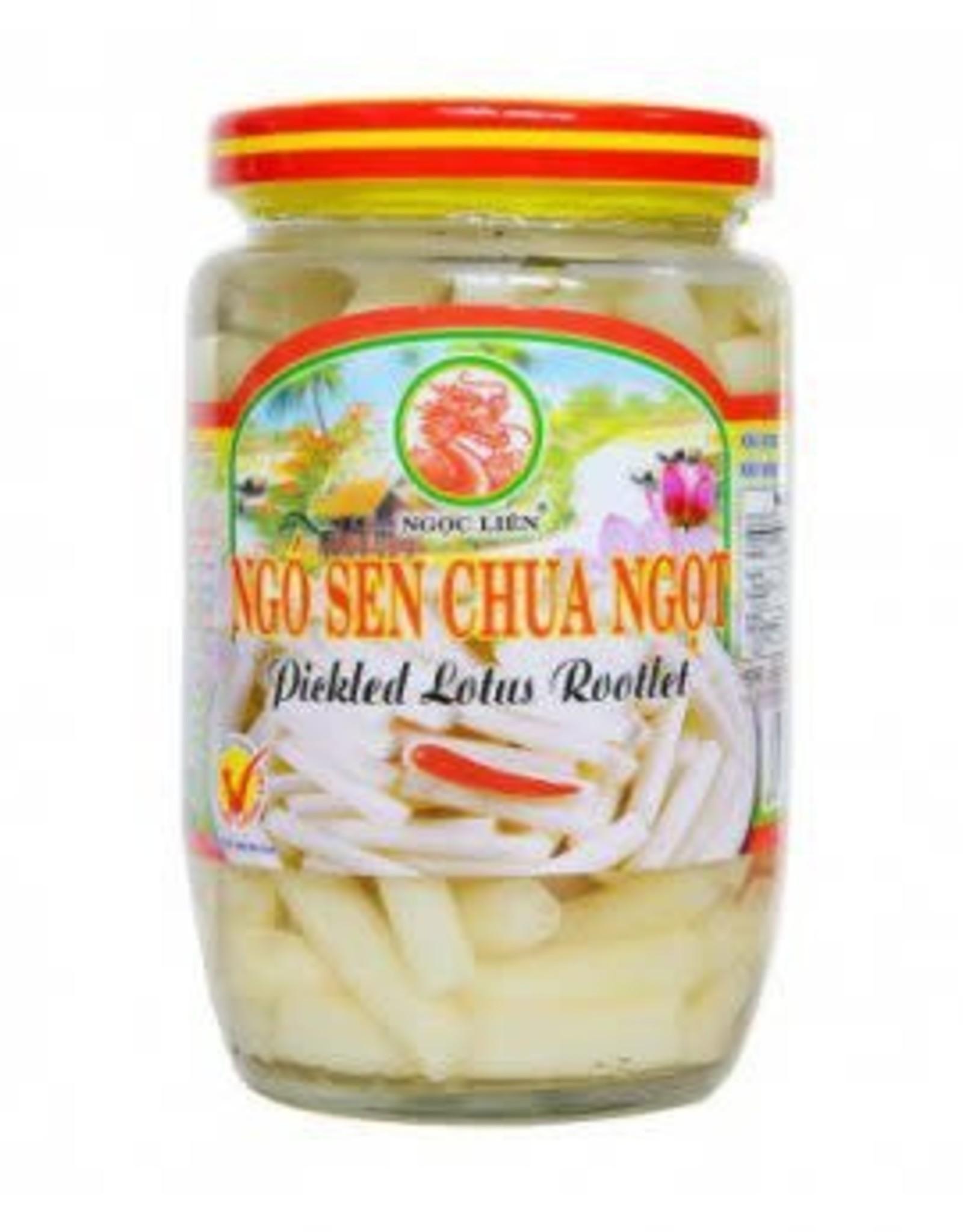 Pickled Lotus Root 385 Gr. Ngoc Lien