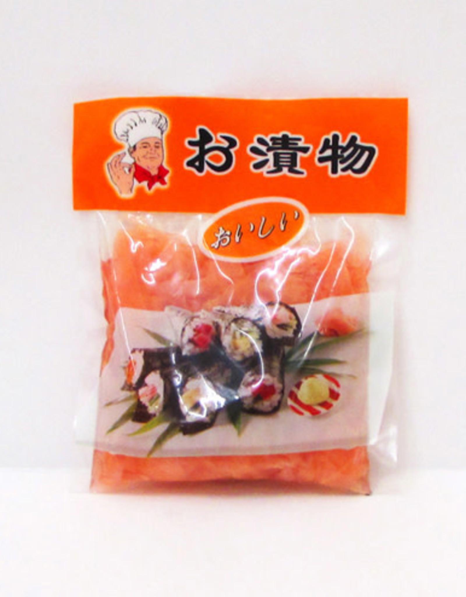Conserveerde Rode Gemberplakjes 150 Gr. Lv Zheng