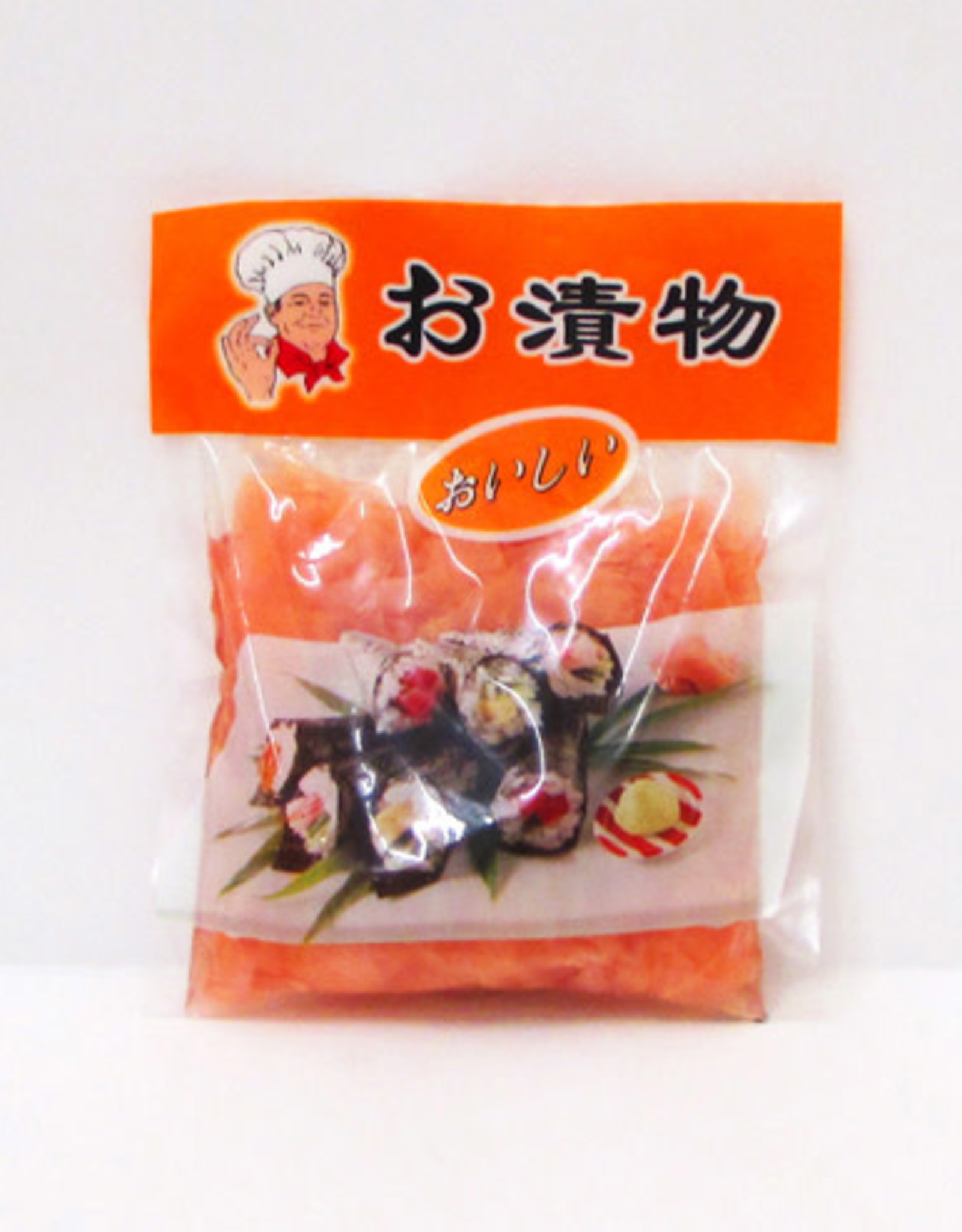 Preserved Red Ginger Slices 150 Gr. Lv Zheng