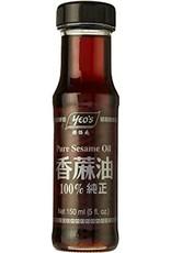 Pure Sesame Oil  150 Ml.  Yeo'S
