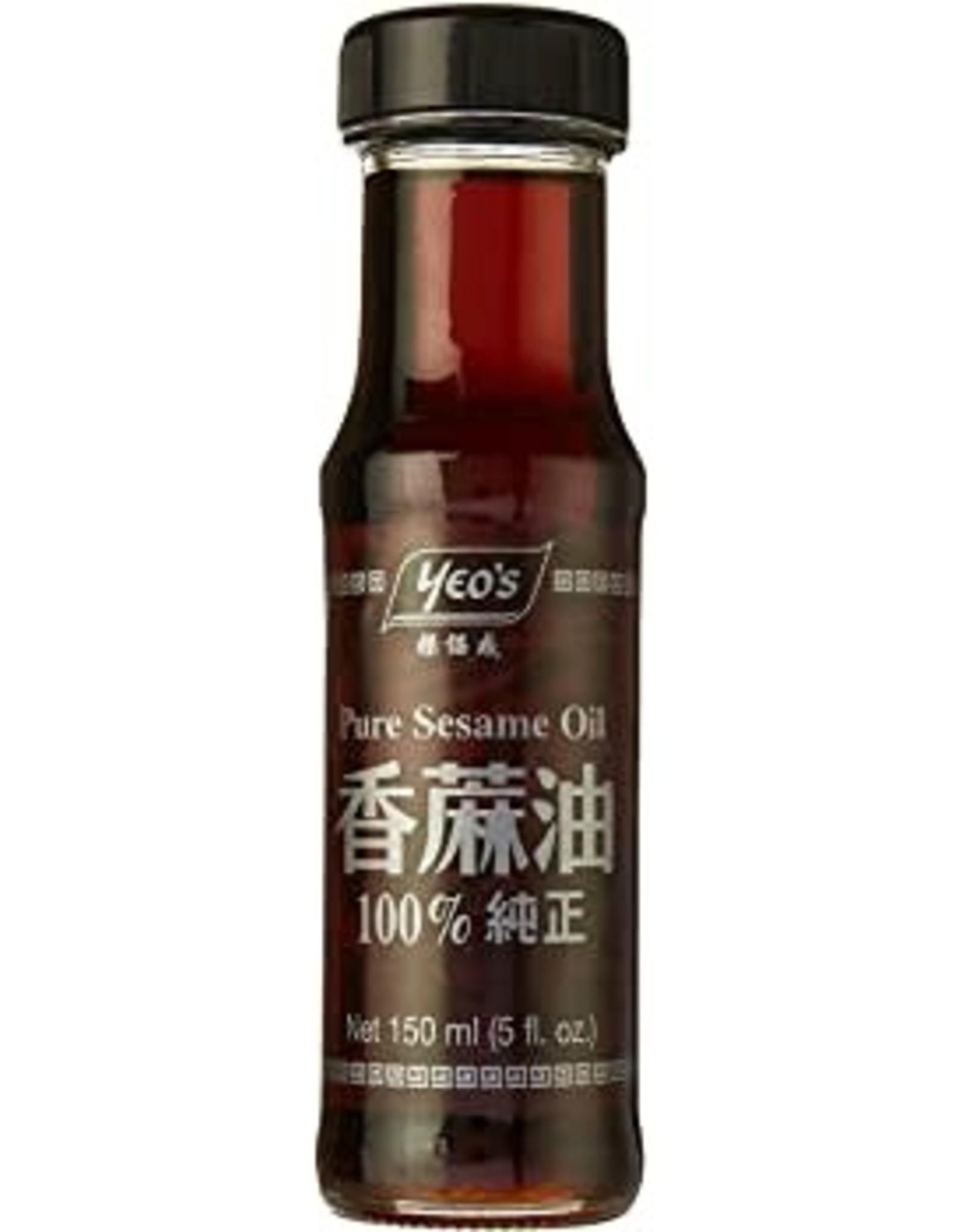 Pure Sesamolie 150 Ml.  Yeo'S