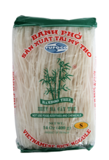 Rice Noodles 1 Mm  400 Gr  Bamboo Tree