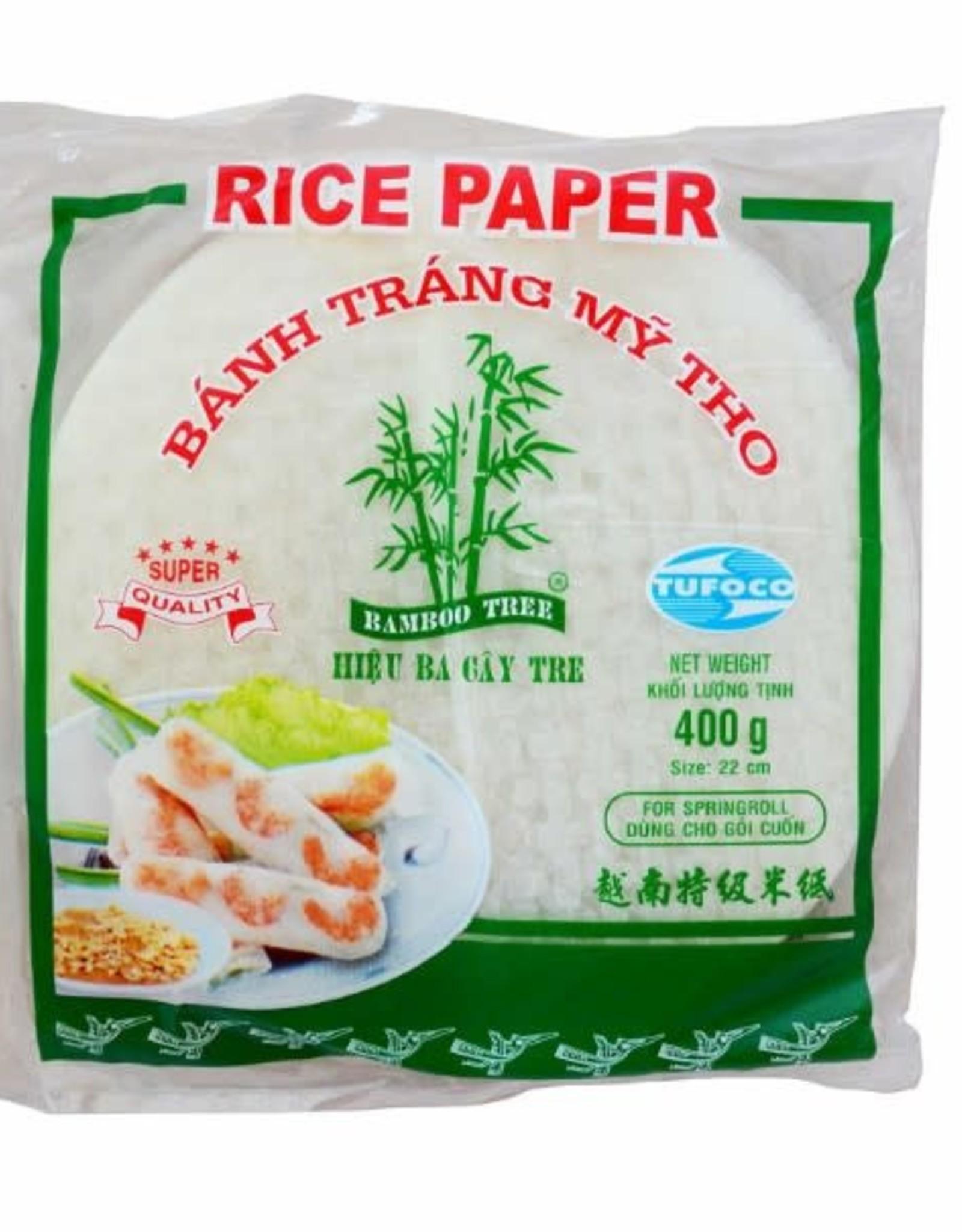 BAMBOO TREE Bánh Tráng 3 Cây Tre 22Cm 400G