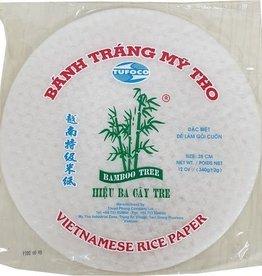 Rice Paper 28Cm 340 Gr  Bamboo Tree