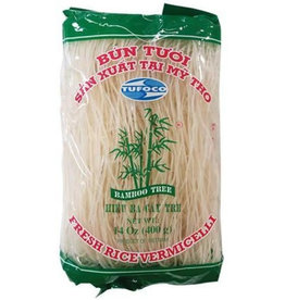 Rice Vermicelli  400 Gr  Bamboo Tree