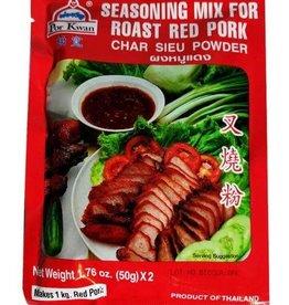 Roasted Red Pork Seasoning Mix  100 Gr.  Por Kwan