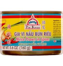Minced Prawn In Spices 160 Gr.  Por Kwan