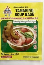 Tamarind Soup Base  40 Gr.  Por Kwan